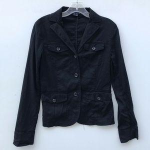 Theory Luna Stretchy Blazer Utility Jacket #1085